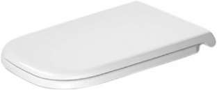 Duravit - D-Code Toilet Seat & Cover (Automatic Closure) - 0060390000
